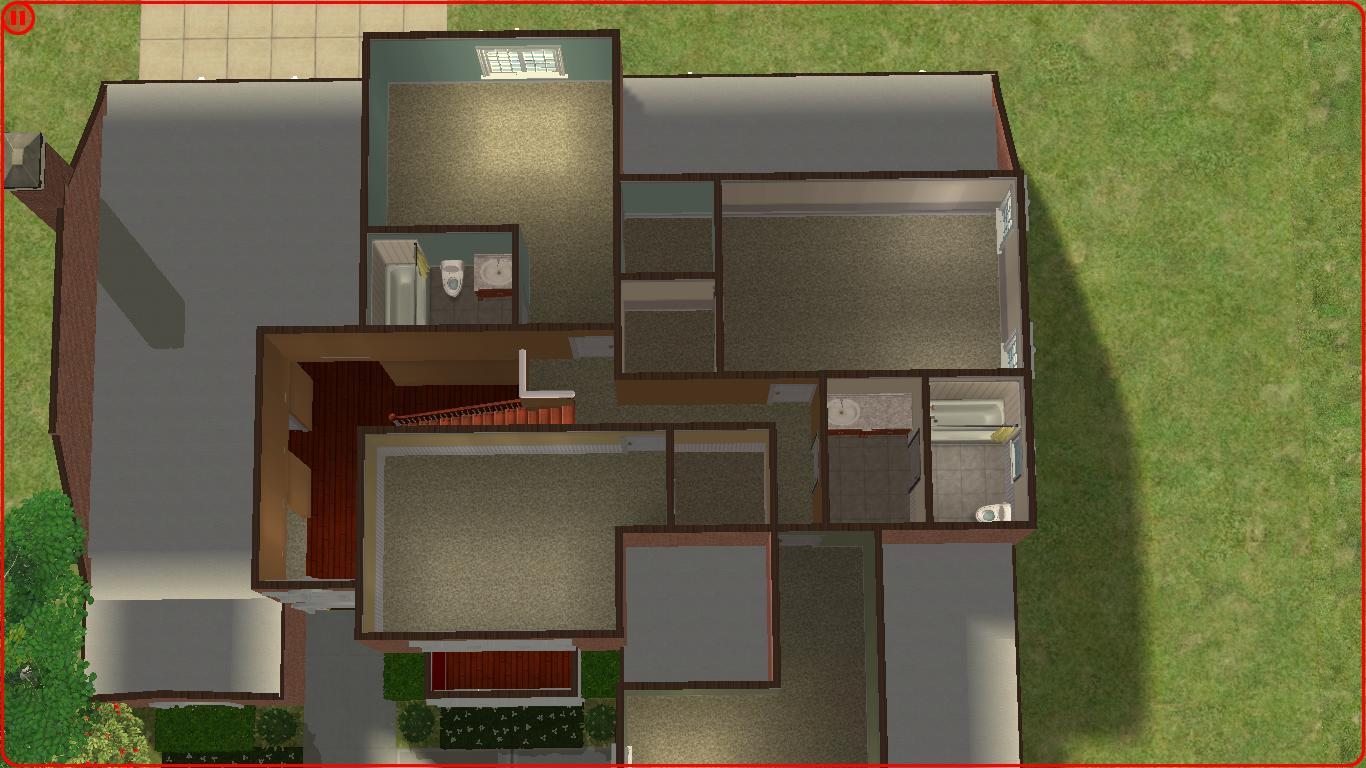sims 2 lot downloads large new american i think i got it really close to the actual floor plan and i m really happy about it this new american style house has 5 bedrooms and 3 5