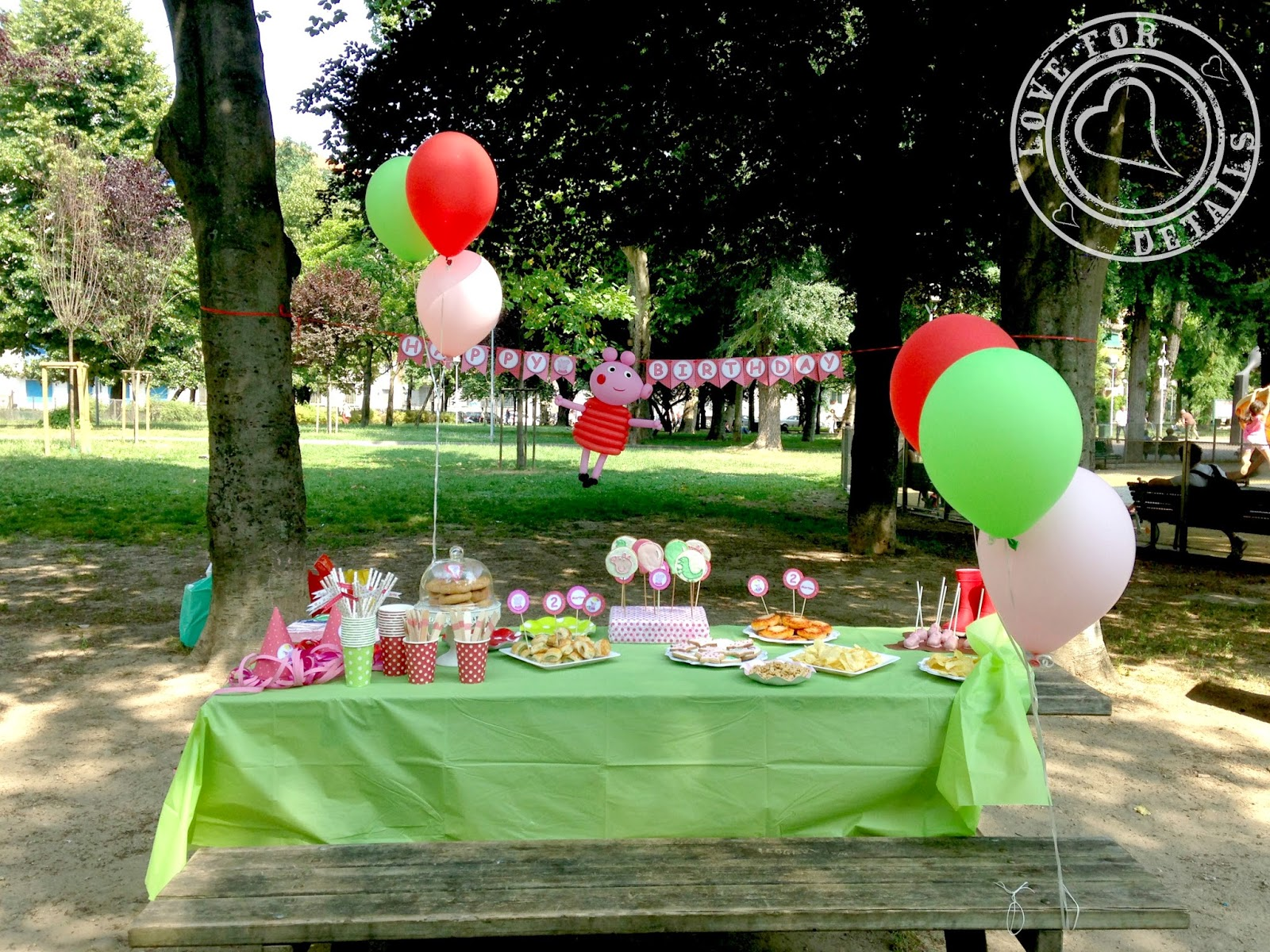 Festa compleanno peppa pig