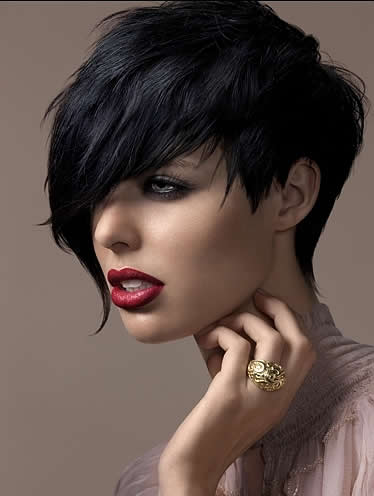 Here are some pictures of the latest new short haircuts for women