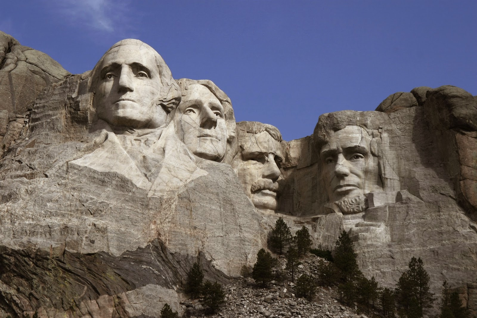 Image of Mt. Rushmore.