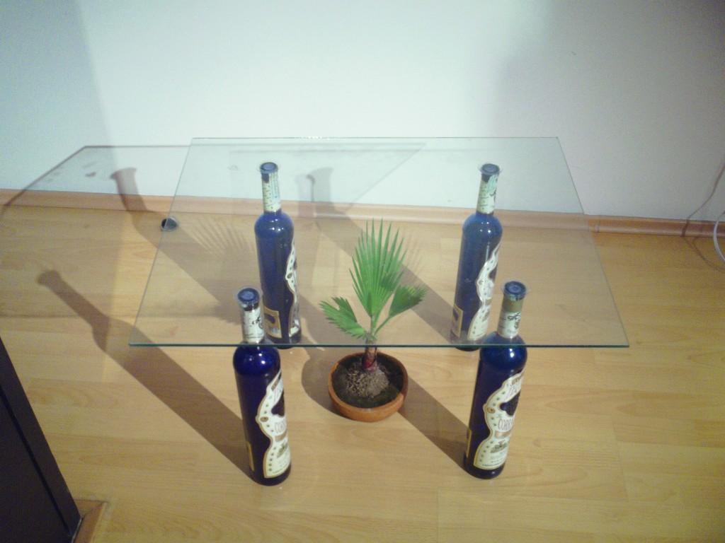 Un vidrio mas for Como reciclar una mesa