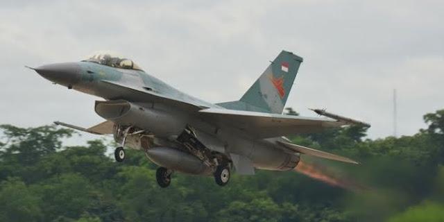 F-16 Block 52 TNI AU