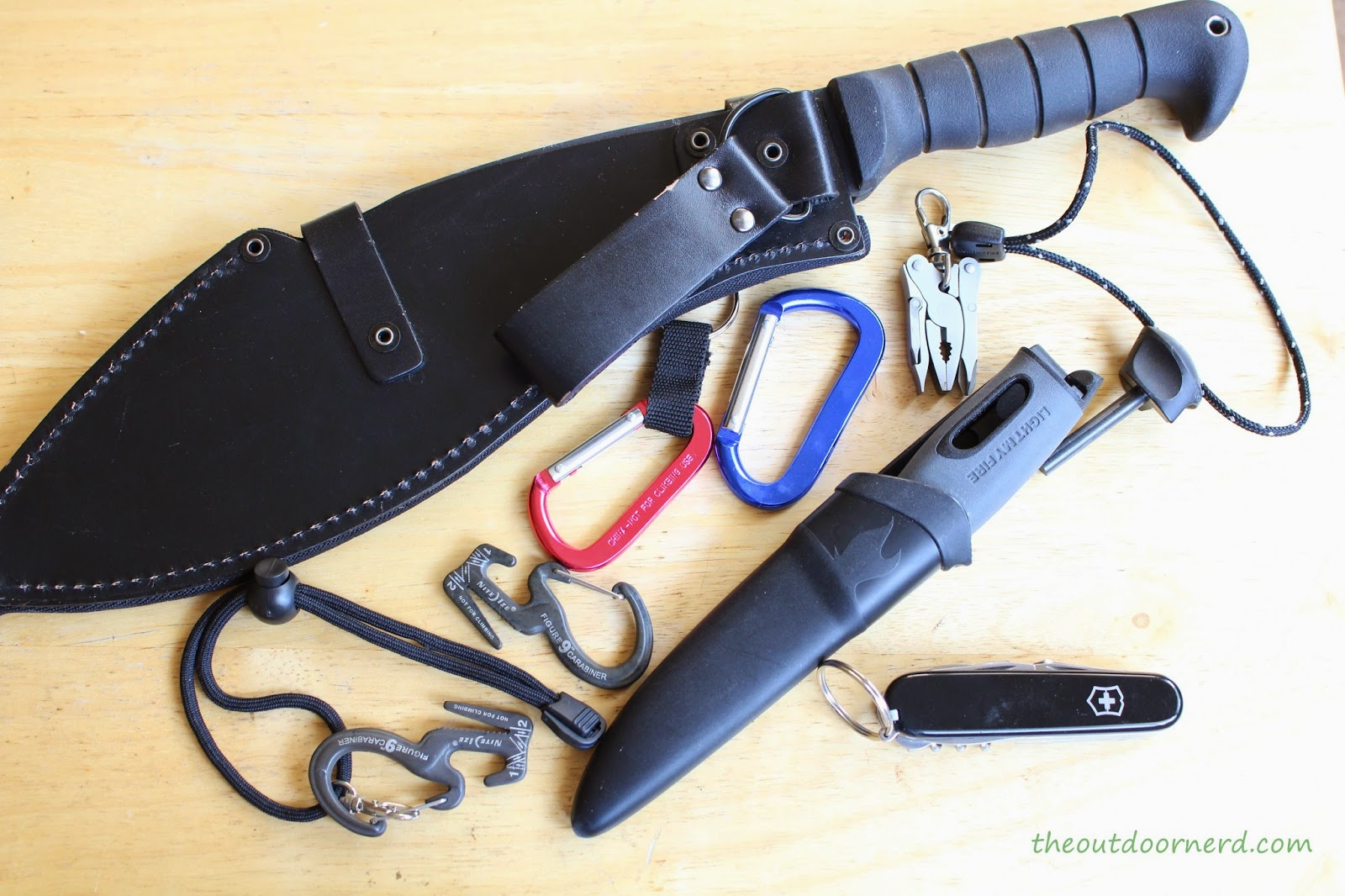 Tools For Emergency Bag: Ka-Bar Kukri, Mora Light My Fire, Victorinox Explorer and More