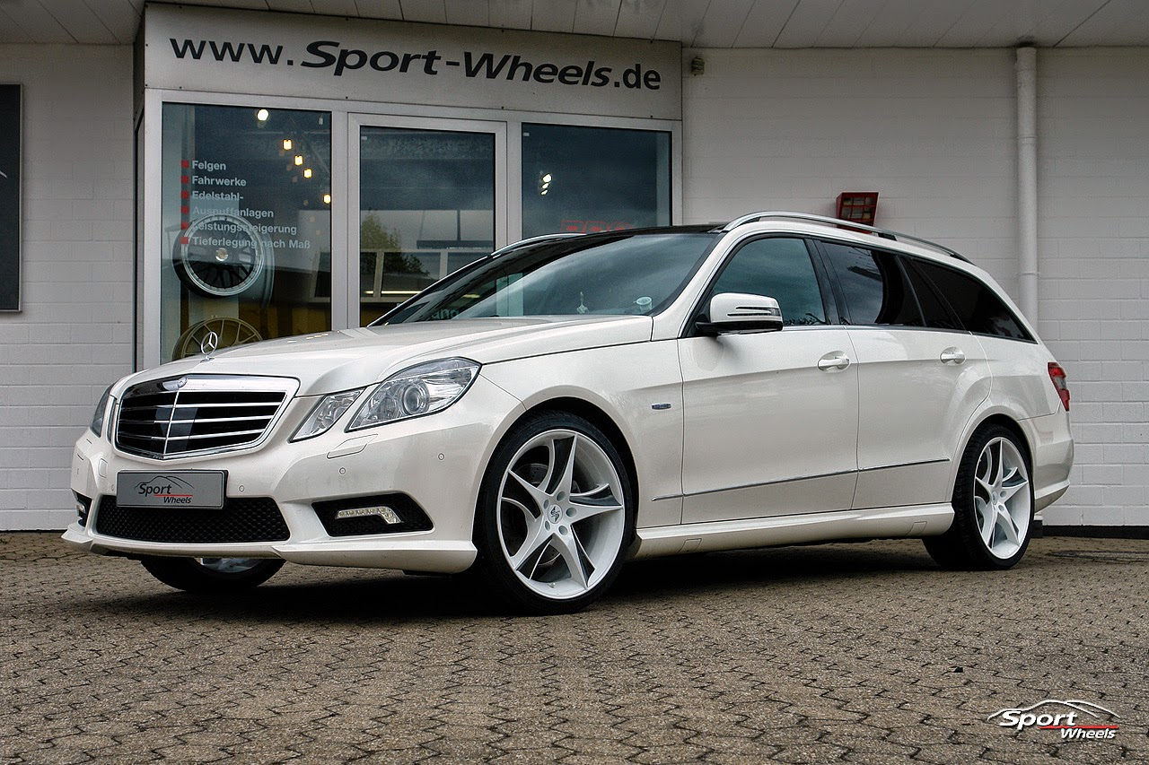 Mercedes benz s212 on 19 etabeta jofiel benztuning for Mercedes benz tuning