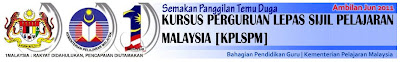 Semakan Maktab Panggilan Temu Duga Kursus Perguruan Lepas SPM (KPLSPM) Ambilan Jun 2011