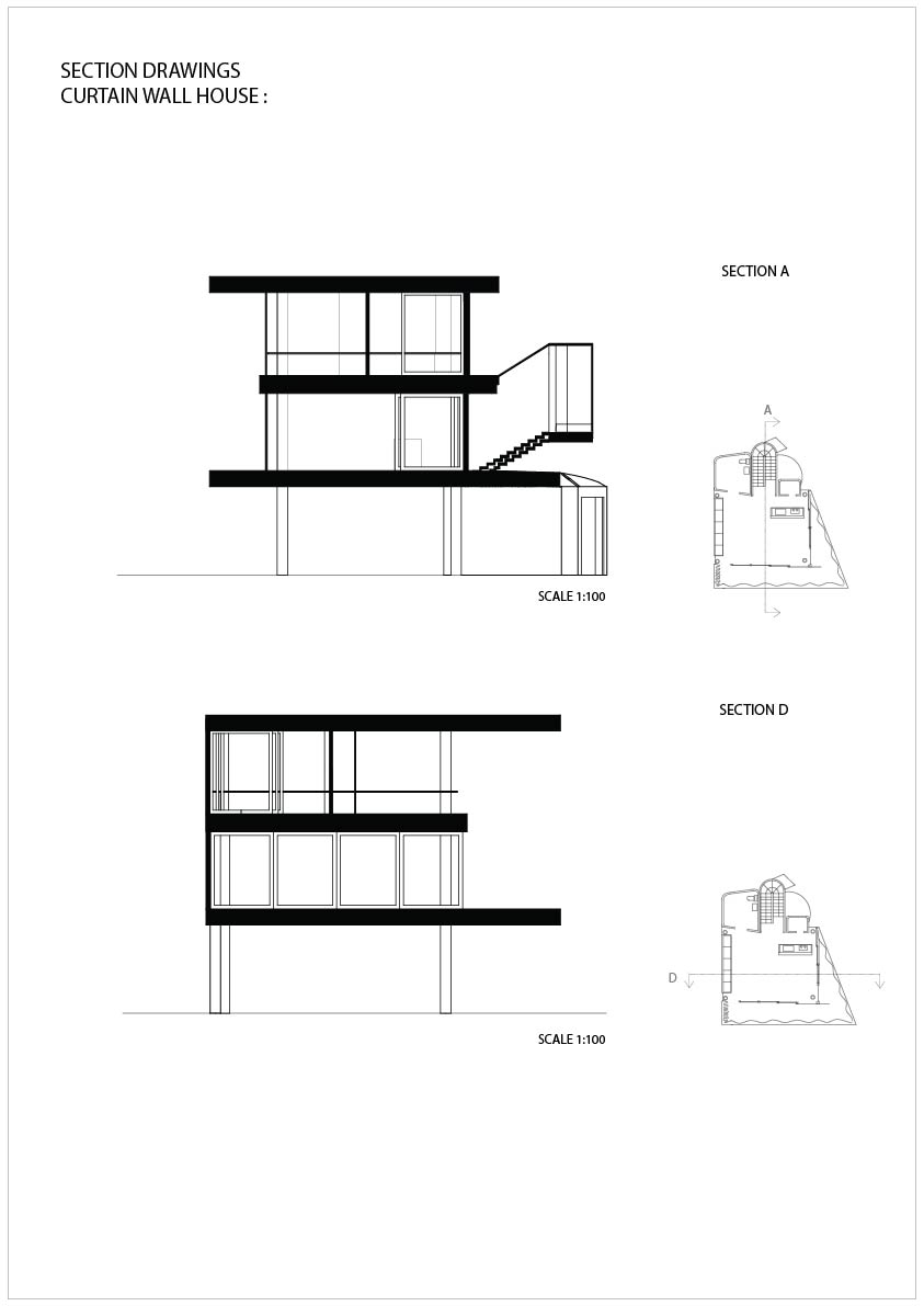 Curtain wall house plans house design plans for Wall homes floor plans