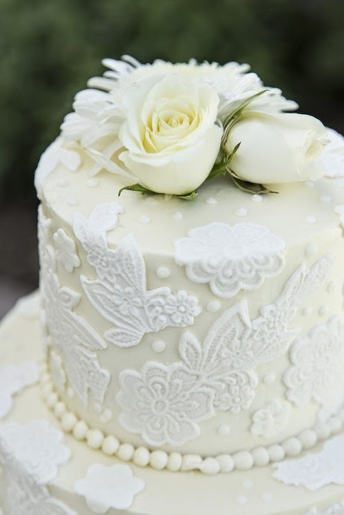 Simple wedding cake designs buttercream