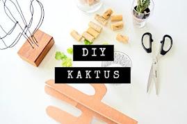 DIY - Kaktus z Kartonu