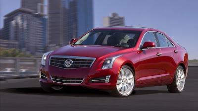 Cadillac ATS (2013) Front Side