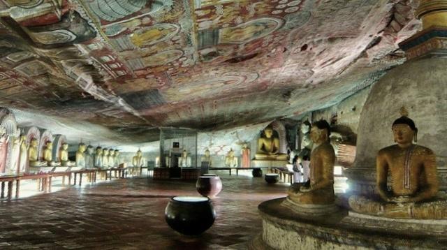 Templo de oro de Dambulla: la joya mas preciosa de Sri Lanka