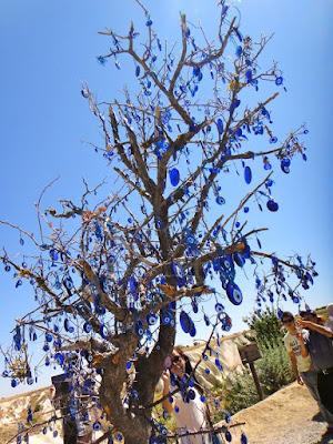 The Nazars Tree in Cappadocia Turkey