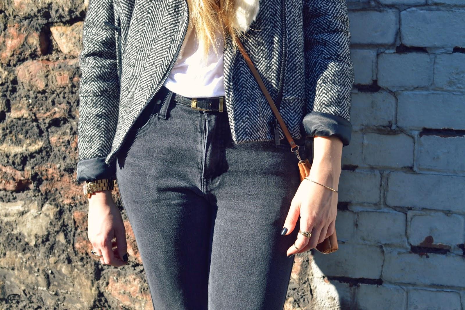 vintage jeans fashion union jacket