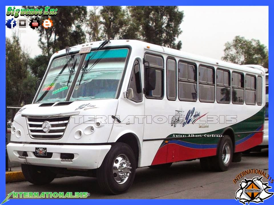 International 315 autotransportes san pedro santa clara for Mercedes benz santa clara