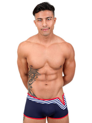 Pistol Pete Wired Midcut with V-Wire Swimwear Gayrado Online Shop