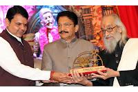 Babasaheb-Purandare-honoured-with-Maharashtra-Bhushan-award
