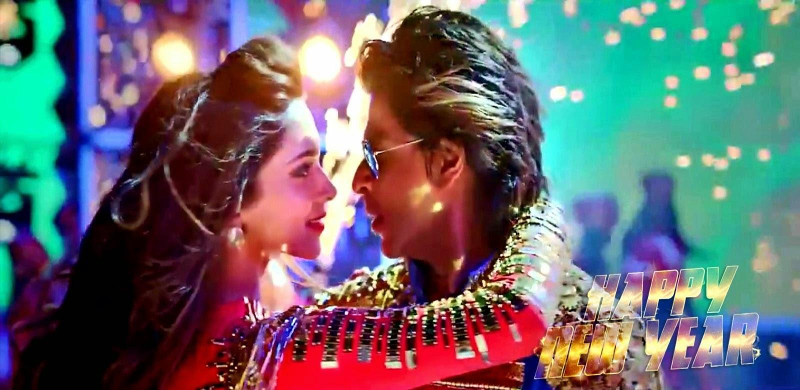 Movie happy new year dipika padu with sharukh khan romentic 2014 (Actor and Actress Hd Wallpaper)