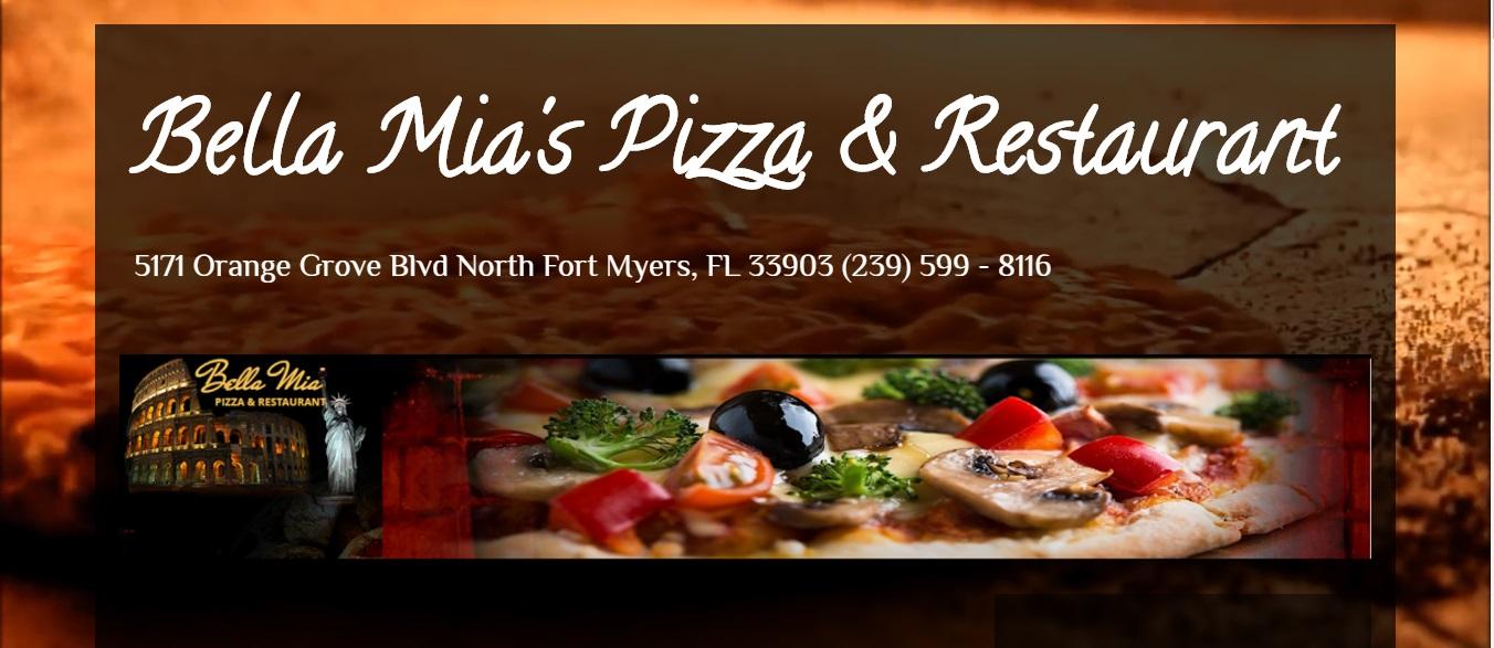 Bella Mia's Pizza & Restaurant