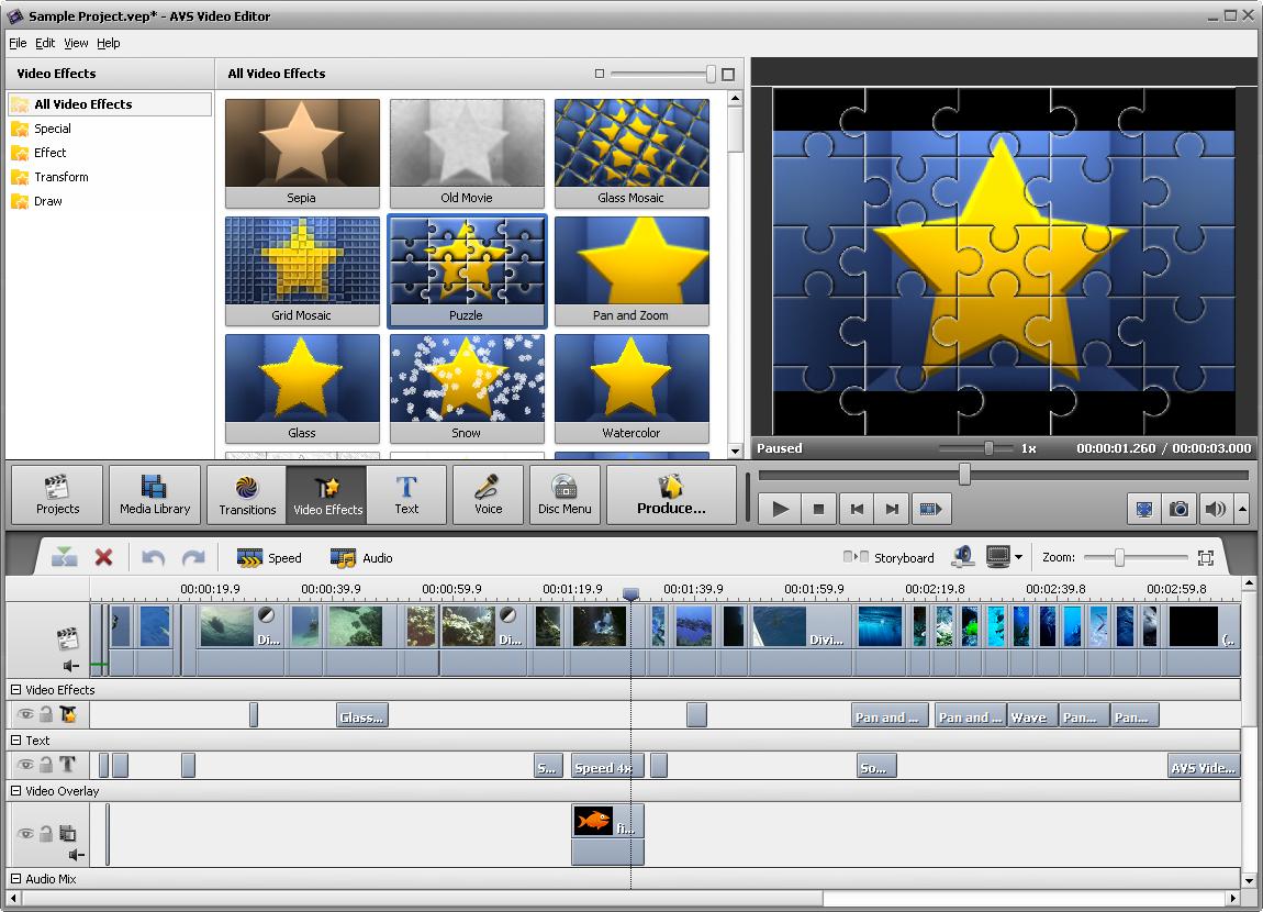 تنزيل برنامج تعديل الفيديو على الكمبيوتر كامل 2015 دونلود AVS Video Editor