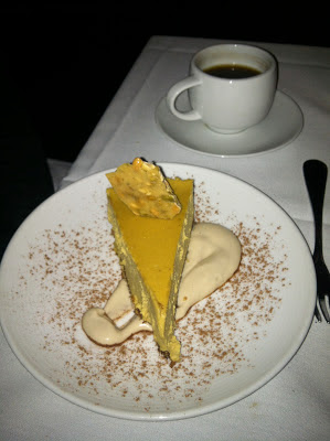 Vegocracy Pumpkin Cheesecake
