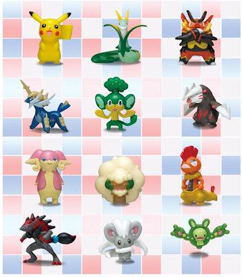 Pepsi Nex Pokemon Figure Charm Suntory