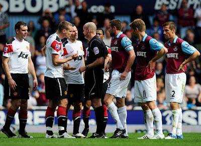 West Ham United (2) vs (4) Manchester United