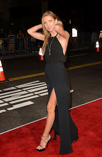 Audrina Patridge arriving at  End of Watch L. A. Premiere