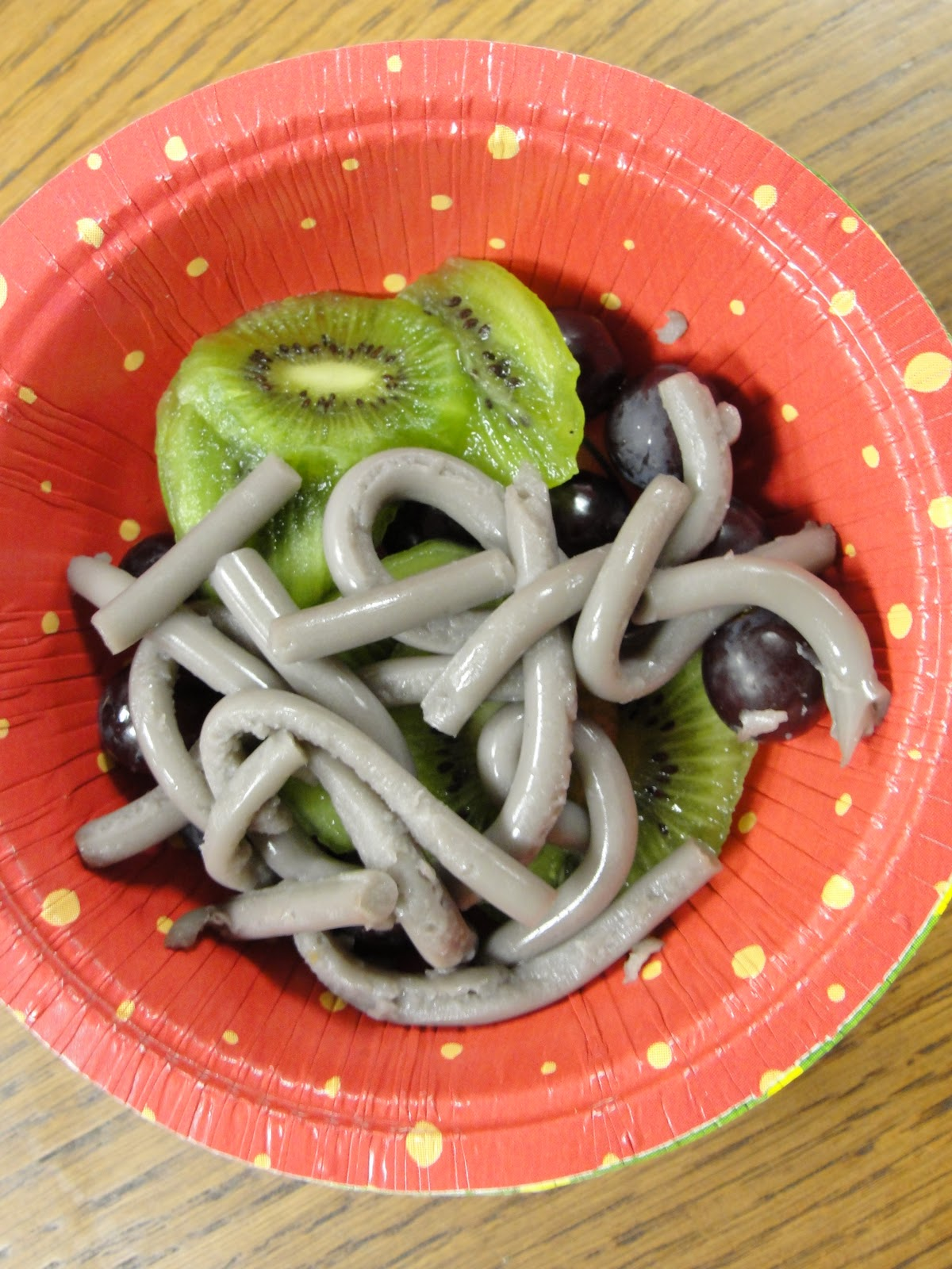 Gaia Garden Girl Making Wiggly Gelatin Earthworms