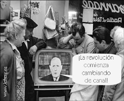 De Gaulle, televisión, revolución, cambio