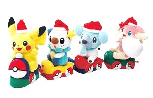 Pokemon Plush 2011 Xmas version PokeCenJP