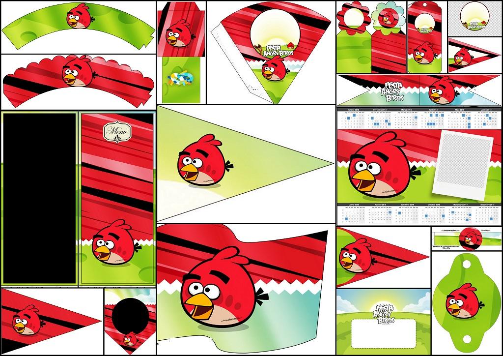 de angry birds para hacer servilleteros conos wrappers de cupcakes