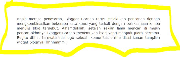 Antara Blogger, Lomba dan Komunitas