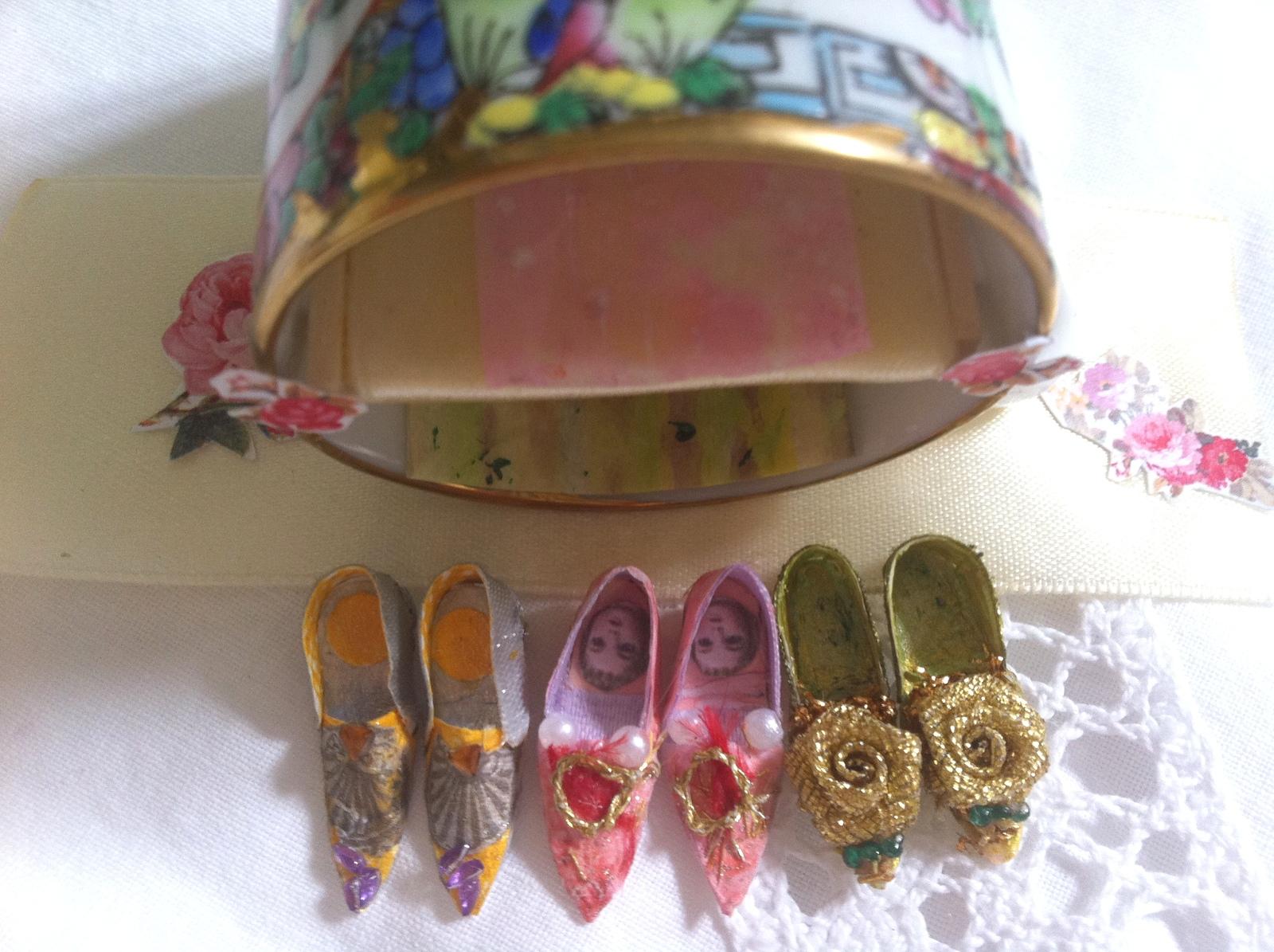 buty Marii Antoniny