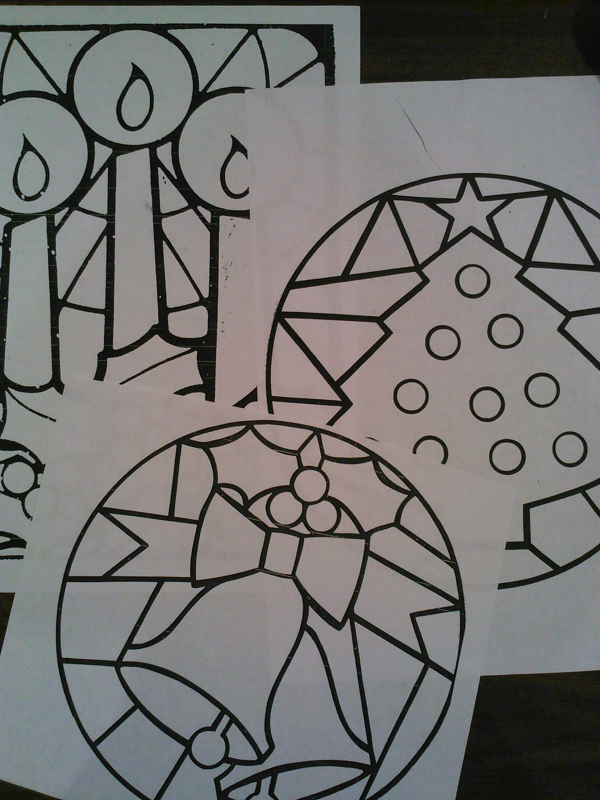 Classroom diy diy stained glass for Make your own stained glass window film
