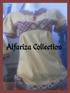 pakaian batik blus