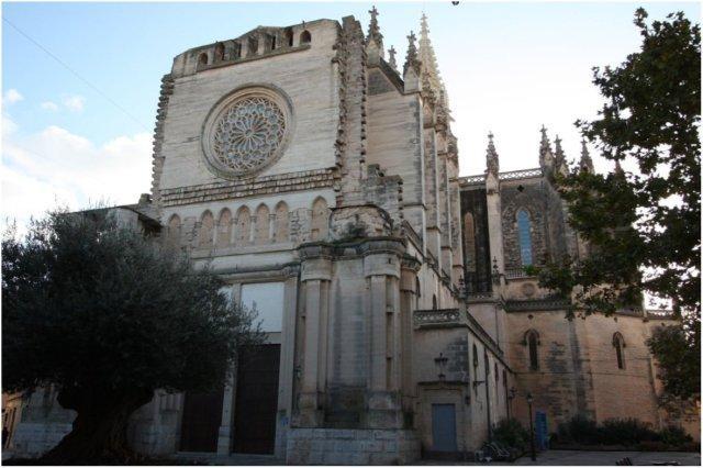 Iglesia de Nuestra Senora de los Dolores en Manacor, Mallorca