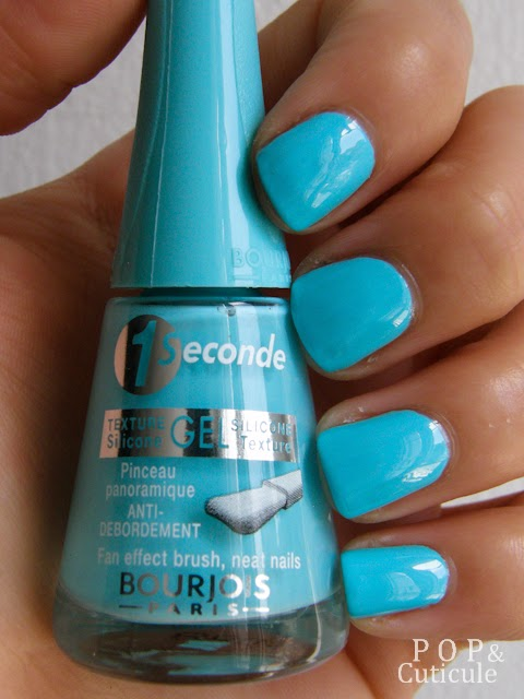 """Blue no blues"" - n°26 1 seconde de Bourjois"