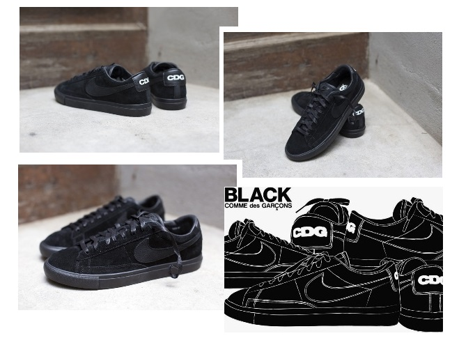 quality design 6a4a5 fbb96 Nike Blazer Low Premium x Black Comme des Garcons.