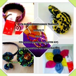 Ayo Nadeli Accessories Training