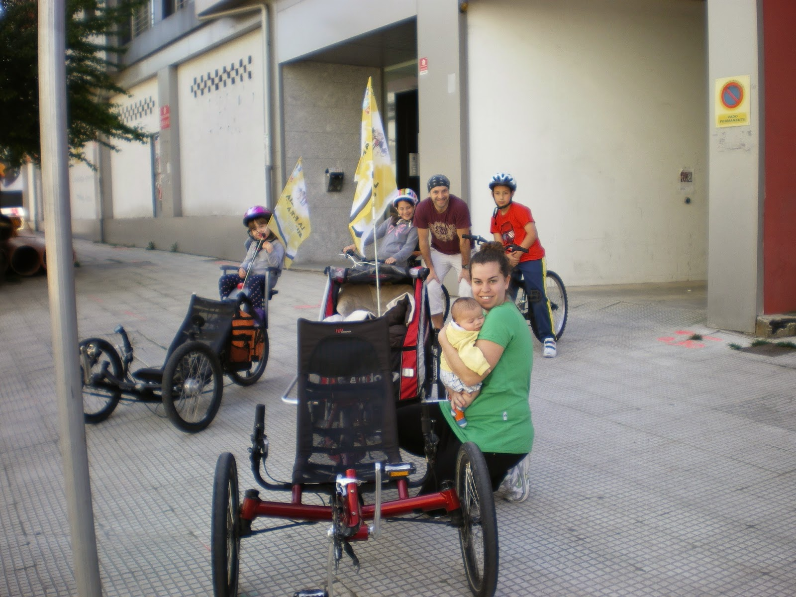 recumbent trike family Familia supertramp