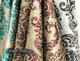 silk, jacquard, luxurious, fabric