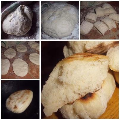 recetas de pan naan paso a paso
