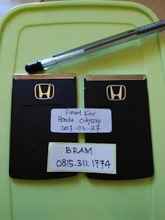 Honda Odyssey Smart Key