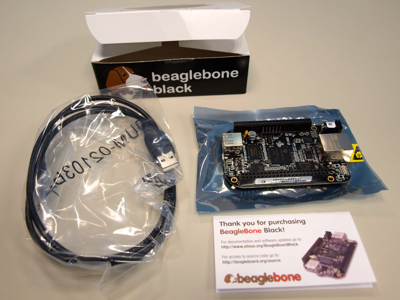 BeagleBone Black Rev C 開發板