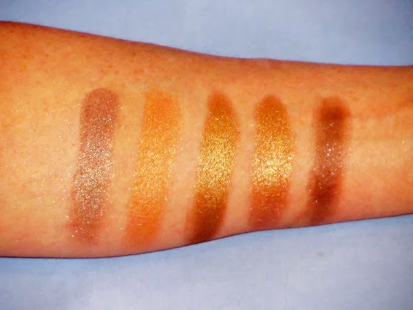Pop Beauty Cosmetics Bright Up Your Life Eyeshadow Swatches