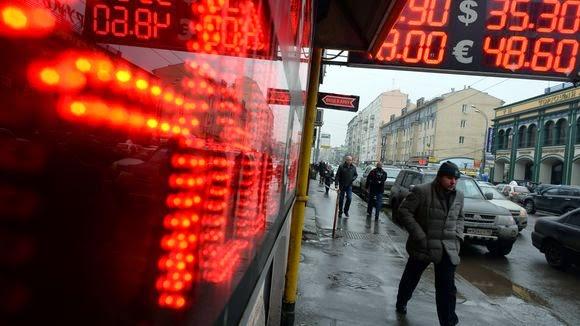 η διακύμανση του ρουβλίου στη Ρωσία