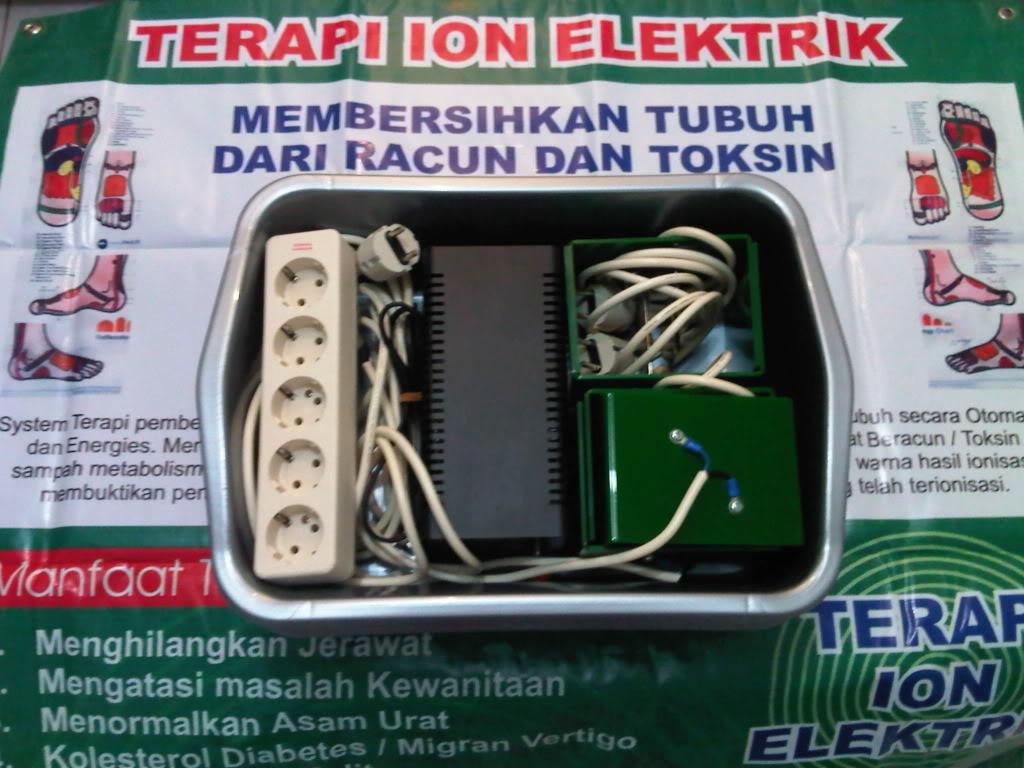 peluang usaha terapi ion elektrik