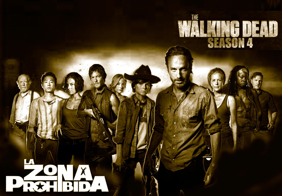 "THE WALKING DEAD 4 Temporada ""Wallpaper Exclusivo La Zona Prohibida"""