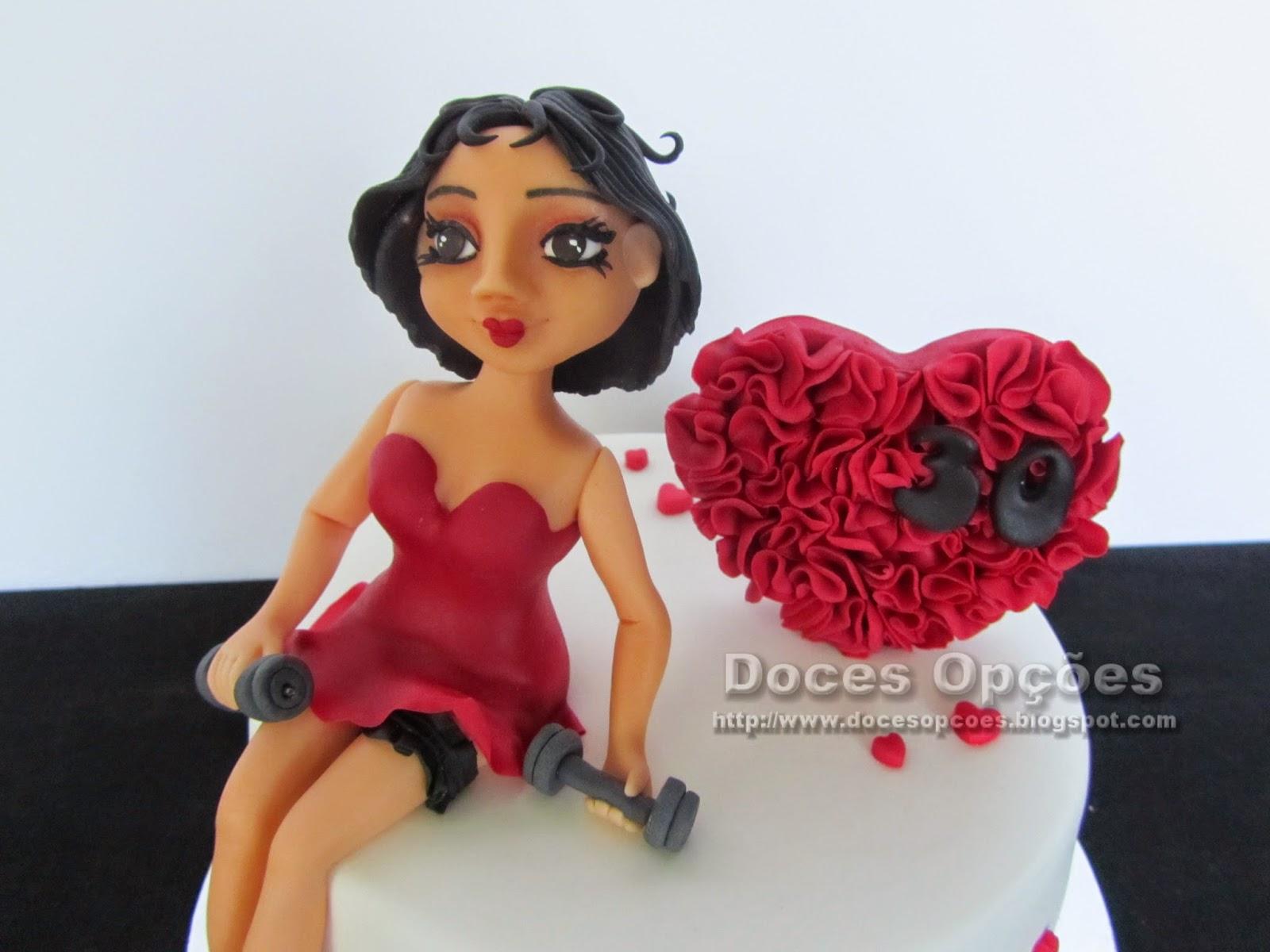 Torta de cumpleaños de Betty Boop