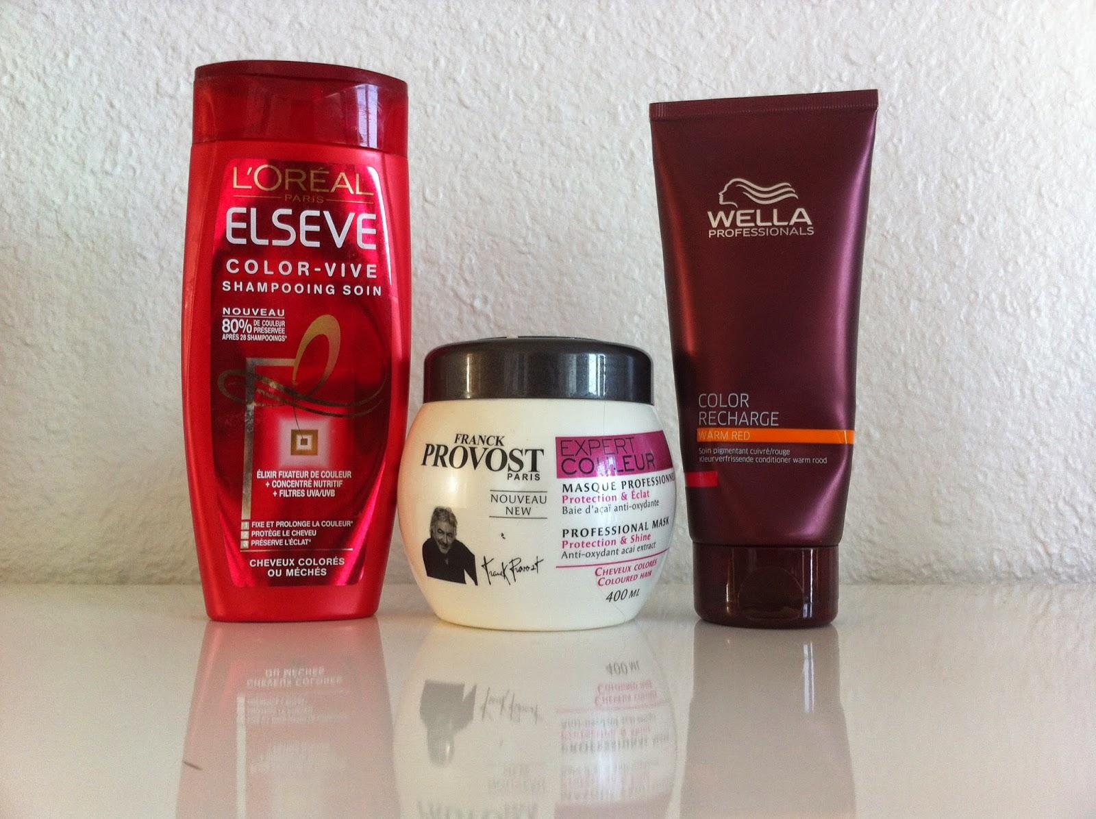jutilise en ce moment un shampoing de la marque loral elsve qui vise entretenir la couleur la faire tenir plus longtemps - Meilleur Shampoing Cheveux Colors