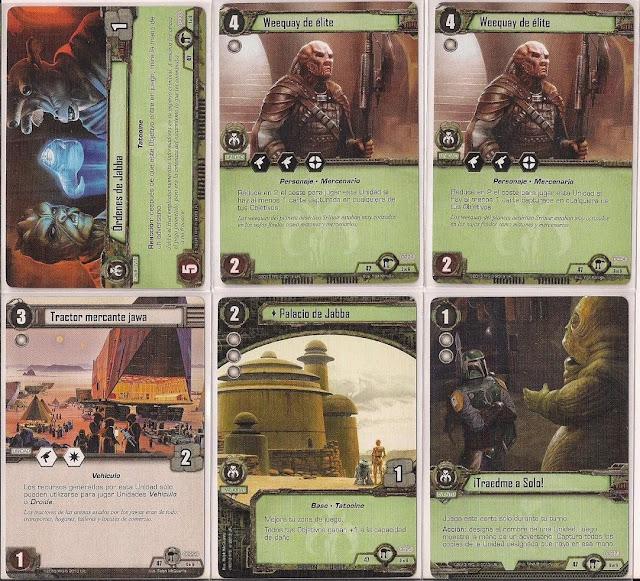 Expansión Star Wars LCG: Ciclo de Hoth - La búsqueda de Skywalker Órdenes de Jabba